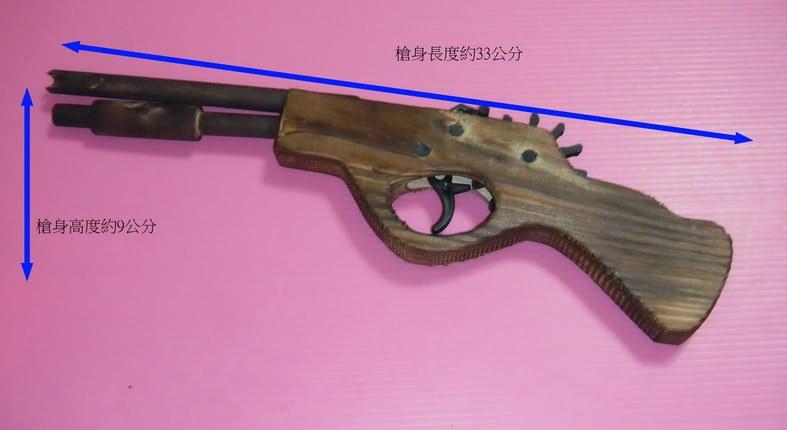 12连发步枪造型纯木制橡皮筋手枪(超级改良版)